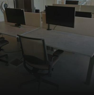 Verstalbare bureautafels van Hon Move