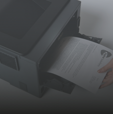 All-in-one printer support service, thuiswerkoplossing